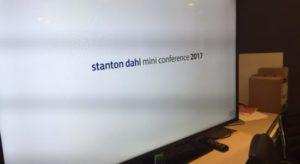 Stanton Dahl Mini Conference 2017